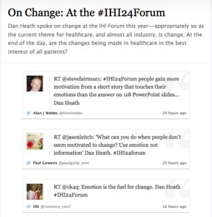 Storify on Change