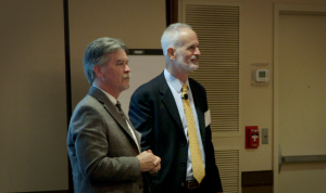 Paul Levy & Dave Mayer at MedStar Health Quality & Safety Retreat April 2013